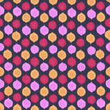 Abstract seamless pattern with hand drawn elements Stock Photo