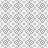 Abstract seamless pattern with hearts elements. Simple black and white flower texture. Vector. Illustration royalty free illustration