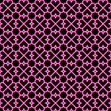 Abstract seamless pattern with hearts elements. Simple flower texture. Vector. Illustration stock illustration