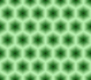 Abstract seamless pattern of hexagons. Stock Images