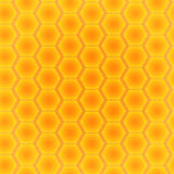 Abstract seamless pattern of hexagons.  illustration Royalty Free Stock Photo
