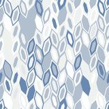 Abstract seamless pattern of hexagons. Motion and interlocking geometric forms. Abstract texture royalty free illustration