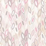 Abstract seamless pattern of hexagons. Motion and interlocking geometric forms. Abstract texture vector illustration