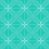 Abstract seamless pattern hypnotic background. Royalty Free Stock Photography