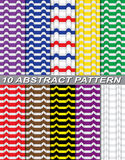 Abstract seamless pattern. Illustration of abstract seamless pattern stock illustration
