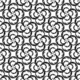 Chaotic seamless pattern stock illustration
