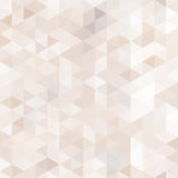Abstract seamless pattern in isometric style. Subtle shades of beige and Brown Royalty Free Stock Photo