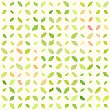 Abstract seamless pattern with laefy ornament. Abstract seamless pattern with leaves. Simple floral background Royalty Free Stock Image
