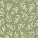 Abstract seamless pattern with leaves Royalty Free Stock Images