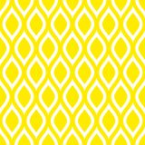 Abstract Seamless Pattern Lemons Or Waves Yellow Square vector illustration