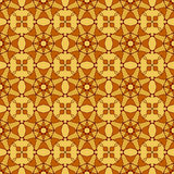 Abstract seamless pattern. Abstract seamless light brown beige kaleidoscopic retro pattern Stock Image