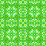 Abstract seamless pattern. Abstract seamless light green kaleidoscopic pattern Stock Image