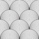 Abstract seamless pattern. Line design, vector Royalty Free Stock Photography