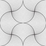 Abstract seamless pattern. Line design, vector Royalty Free Stock Image