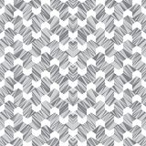 Abstract seamless pattern of lines and angles. Constant movement of geometric shapes. Contrasting shades of color stock illustration