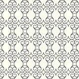 Abstract seamless pattern lines curve vector background Stock Photography