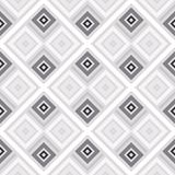 Abstract seamless pattern of lines and squares. Simple geometric shapes. Mosaic of shapes Royalty Free Stock Image