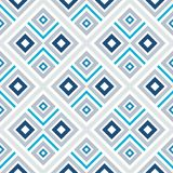 Abstract seamless pattern of lines and squares. Simple geometric shapes. Royalty Free Stock Images