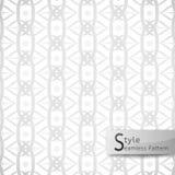 Abstract seamless pattern lotus loop mesh ribbon. white texture Royalty Free Stock Image