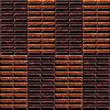Abstract seamless pattern of marble tiles with veins. Relief red, brown and orange marble texture Royalty Free Stock Photography