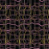 Abstract seamless pattern illustration of marbled plaid texture stock image