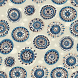 Abstract seamless pattern in marine style. Stock Photo