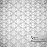 Abstract seamless pattern mesh rope. white texture background Stock Photos