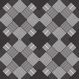 Abstract seamless pattern. Modern stylish texture geometric back. Ground with lines, rhombus Stock Photography