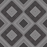 Abstract seamless pattern. Modern stylish texture geometric back. Ground with lines, rhombus Royalty Free Stock Images
