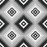 Abstract seamless pattern. Modern stylish texture geometric back. Ground with lines, rhombus Royalty Free Stock Photo