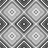 Abstract seamless pattern. Modern stylish texture geometric back. Ground with lines, rhombus Stock Image