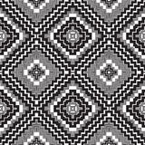 Abstract seamless pattern. Modern stylish texture geometric back. Ground with lines, rhombus Stock Photo