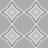 Abstract seamless pattern. Modern stylish texture geometric back. Ground with rhombus, lines for your work Stock Image