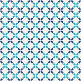 Abstract seamless pattern. Modern stylish texture. Regularly repeating rhombuses made of geometric shapes. Linear style. Vector color background Stock Illustration