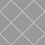 Abstract seamless pattern. Modern stylish texturegeometric backg. Round with rhombus, triangles, lines Stock Photography