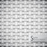 Abstract seamless pattern monochrome. white texture weave serrat. Ed mesh geometric Stock Images