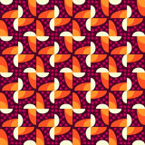 Abstract seamless pattern motif background. Geometric colorful s Stock Photography