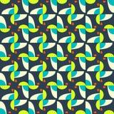 Abstract seamless pattern motif background. Geometric shapes Stock Photo