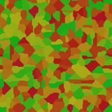 Abstract seamless pattern in muted colors Stock Image
