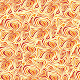 Abstract orange-beige seamless Stock Photography