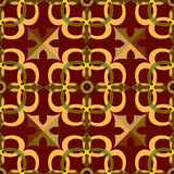 Abstract seamless pattern in Oriental style Stock Images