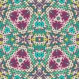 Abstract seamless pattern. Original mosaic seamless pattern, EPS8 - vector graphics Royalty Free Stock Photos