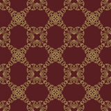Abstract seamless pattern with ornament. Damask seamless floral background pattern. Vector illustration vector illustration
