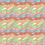 Abstract seamless pattern of paint strokes Royalty Free Stock Images