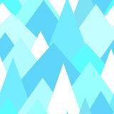 Abstract seamless pattern with pastel triangles. Vector background Royalty Free Stock Image