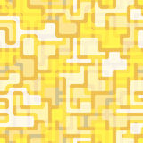 Abstract seamless pattern with a pattern of thick lines and colored inserts. royalty free stock photos