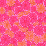 Abstract seamless pattern.The picture of a cut orange Stock Photo