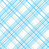 Abstract Seamless Pattern with Plaid Fabric on a white background. Royalty Free Stock Photo