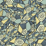 Abstract Seamless Pattern With Polygons Stock Photo