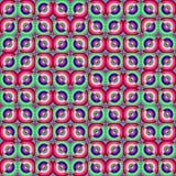 Abstract seamless pattern pop art style Stock Photo